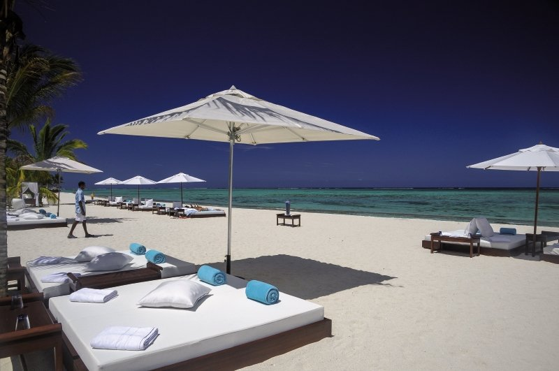 Dinarobin Beachcomber Golf Resort & Spa Strand