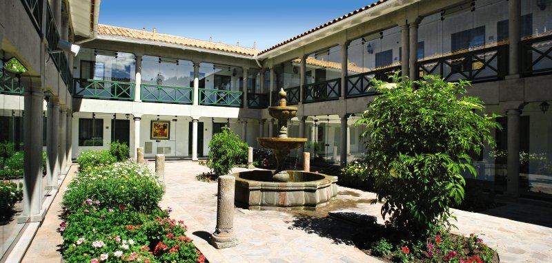 Casa Andina Premium Cusco Garten