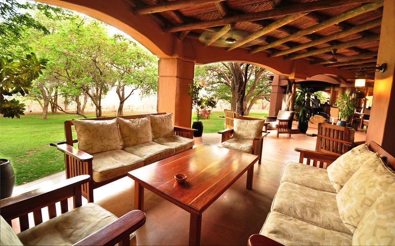 Chobe Chilwero Lounge/Empfang
