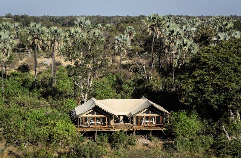 Tubu Tree Camp Wohnbeispiel