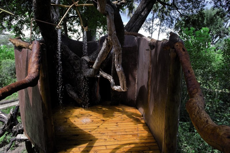 Tubu Tree Camp Badezimmer