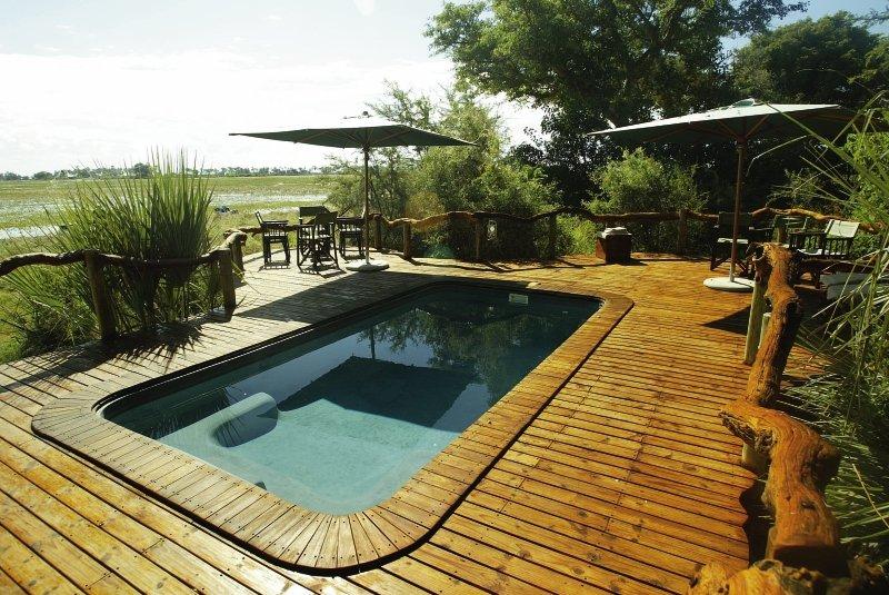 Tubu Tree Camp Pool
