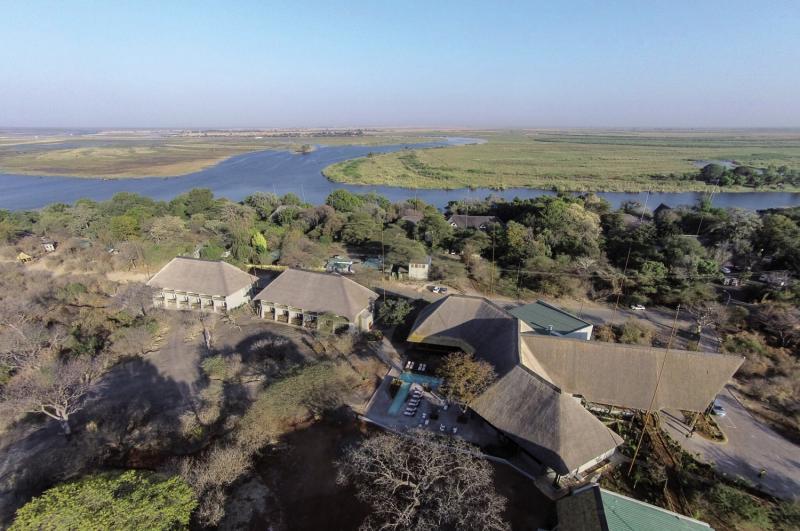 Chobe Bush Lodge Landschaft