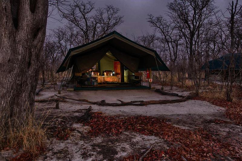Hyena Pan Tented Camp Außenaufnahme