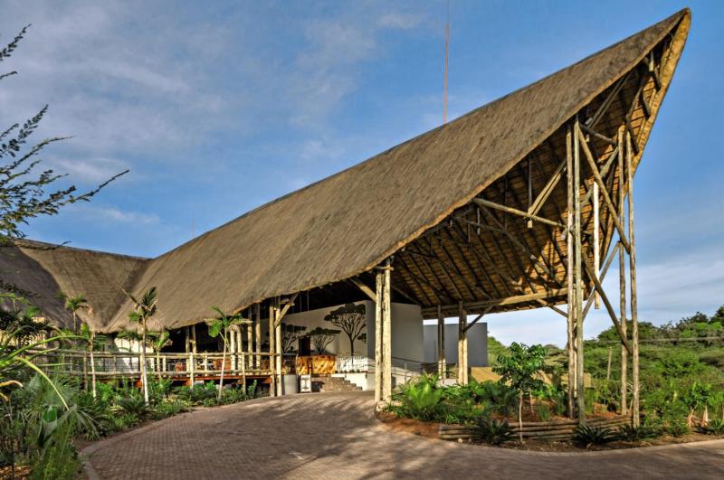 Chobe Bush Lodge Terrasse