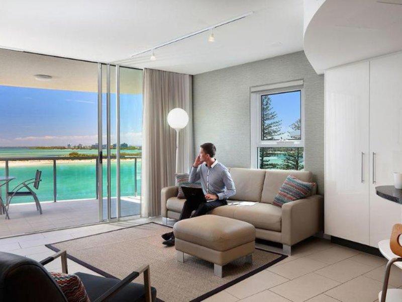 Rumba Beach Resort Lounge/Empfang