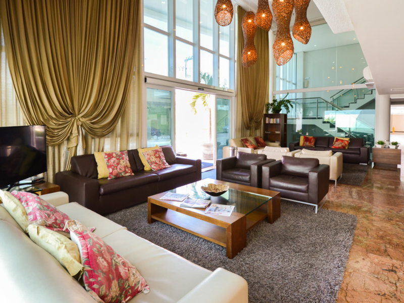Coral Plaza Apart Hotel Lounge/Empfang