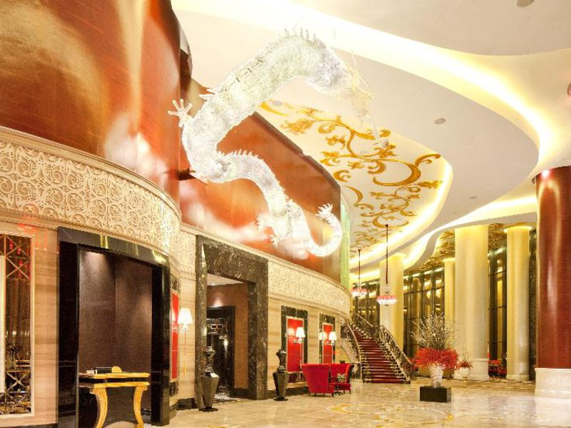 The Trans Luxury Hotel Lounge/Empfang