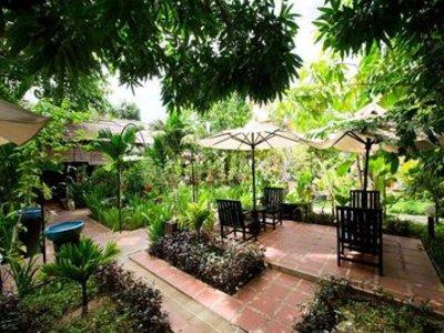 Central Boutique Angkor Hotel Garten