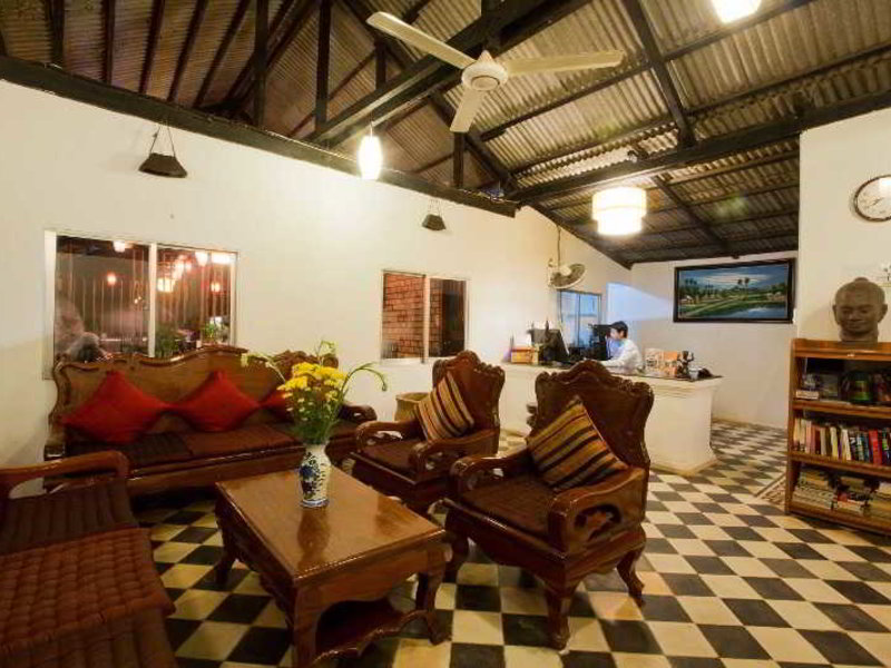 Central Boutique Angkor Hotel Lounge/Empfang
