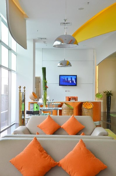 Harris Hotel & Conventions Festival Citylink - Bandung Lounge/Empfang