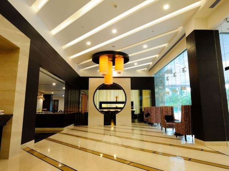 Country Inn & Suites By Carlson Gurgaon Sohna Road Lounge/Empfang