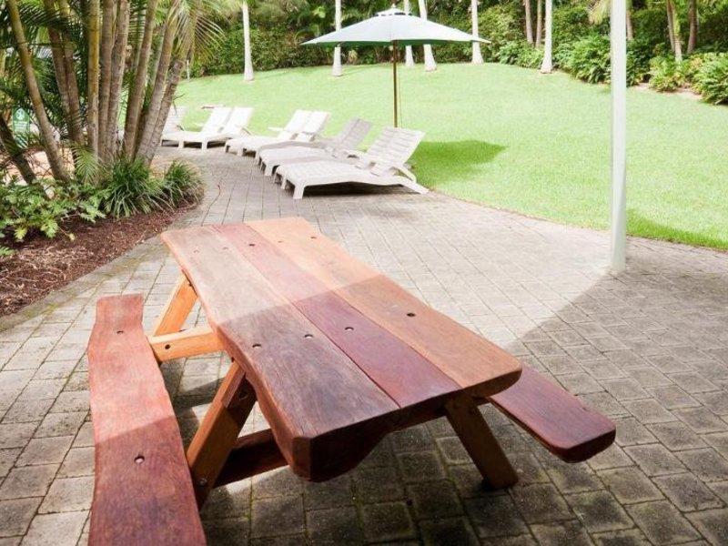 BreakFree Aanuka Beach Resort Terrasse