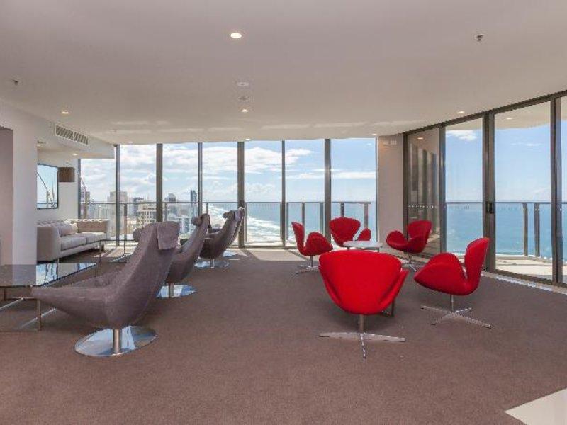 Rhapsody Resort Lounge/Empfang