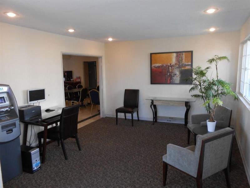 Anaheim Express Inn Maingate Lounge/Empfang