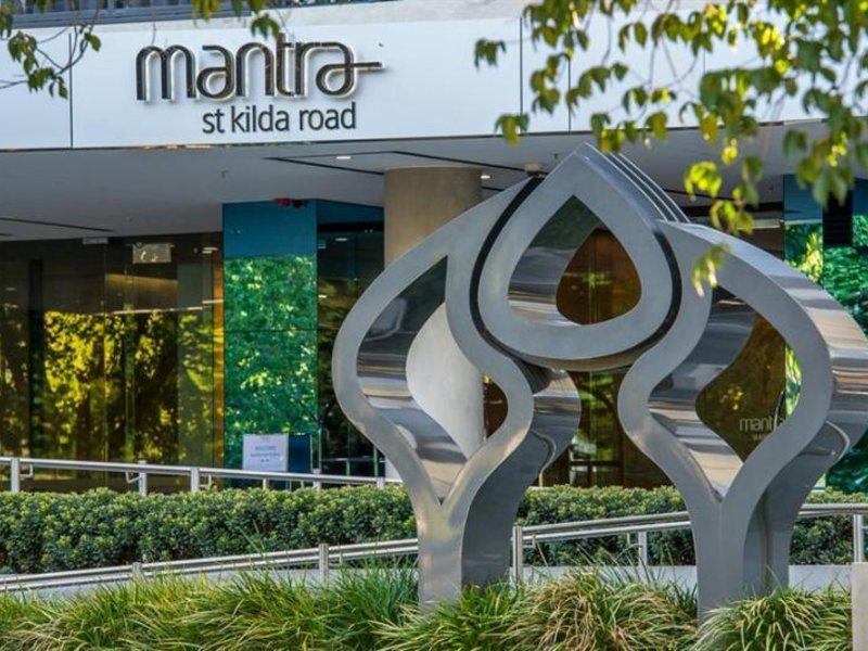 Mantra St Kilda Road Garten