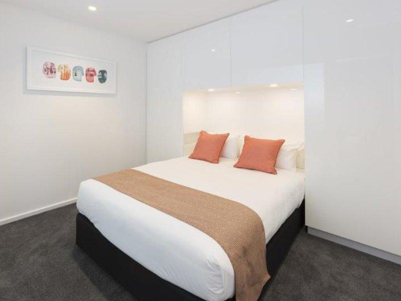 Melbourne Short Stay Apartments Power Street Wohnbeispiel