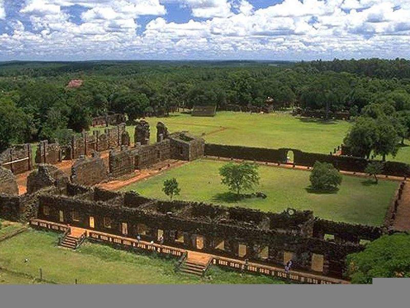 Raices Esturion Lodges Puerto Iguazu Landschaft