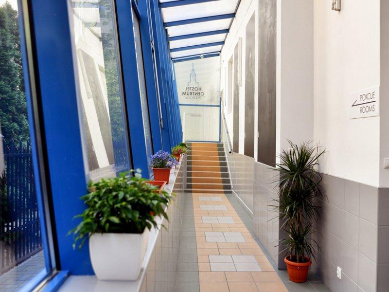 Hostel Centrum Warsaw Lounge/Empfang