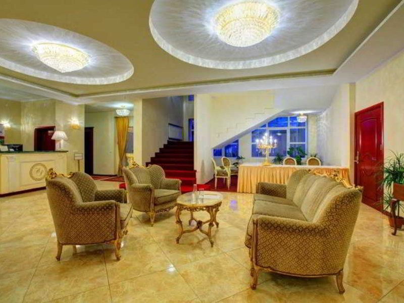 Hotel Holiday Park Lounge/Empfang