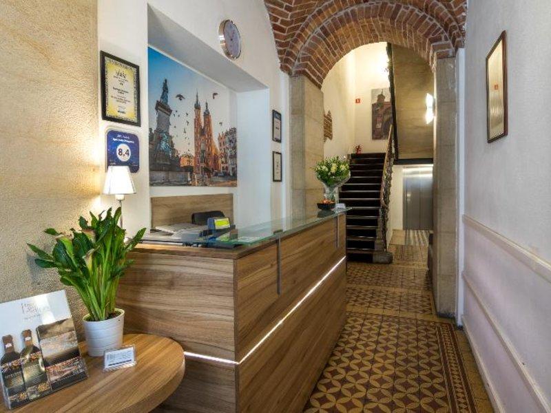 Aparthotel Pergamin Lounge/Empfang