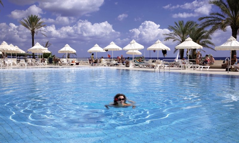 PrimaSol Omar Khayam Hammamet Resort & Aquapark Pool
