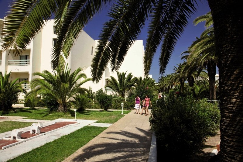 PrimaSol Omar Khayam Hammamet Resort & Aquapark Garten