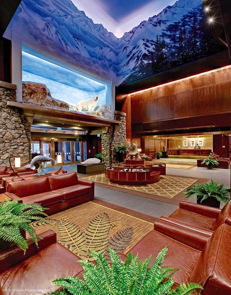The Hotel Alyeska at Alyeska Resort Lounge/Empfang