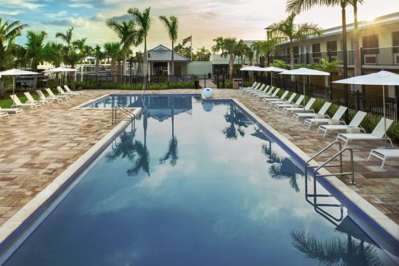 The Gates of Key West Pool