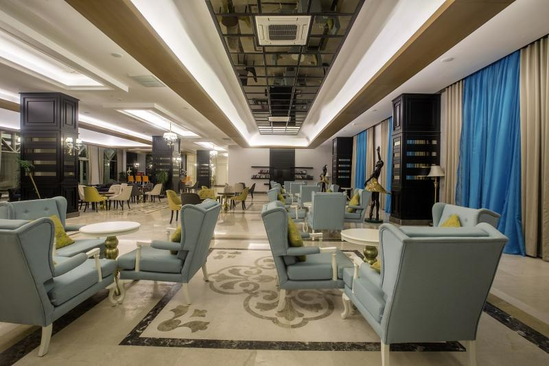 J´adore Deluxe Hotel & Spa Lounge/Empfang