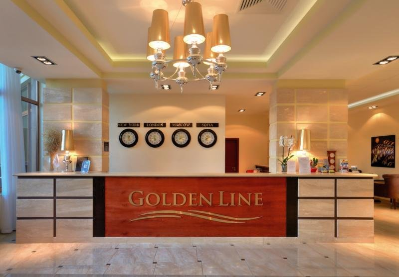 Apart Hotel Golden Line Lounge/Empfang