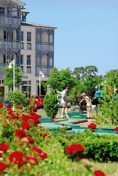 Seepark Sellin Ferienwohnungen Garten