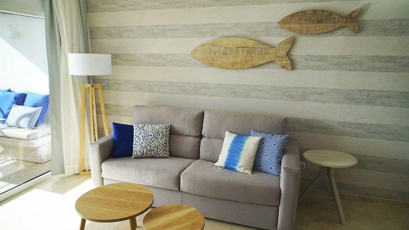 Son Caliu Playa Apartamentos Lounge/Empfang