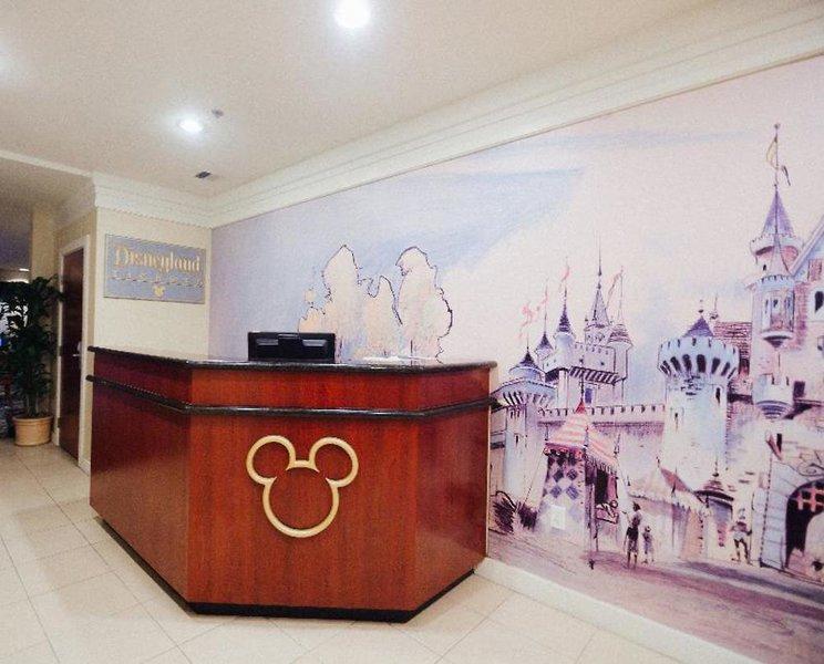Clementine Hotel & Suites Anaheim  Lounge/Empfang