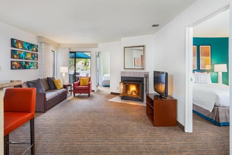 Clementine Hotel & Suites Anaheim  Wohnbeispiel