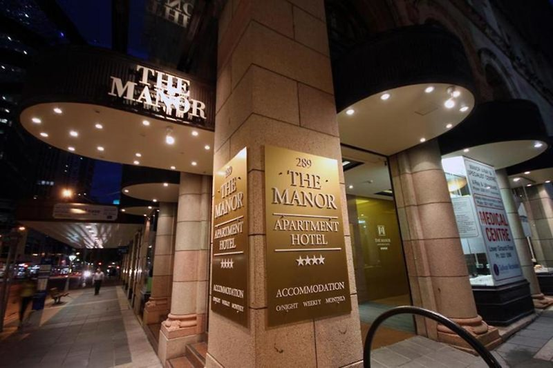 The Manor Apartment Hotel Brisbane Lounge/Empfang