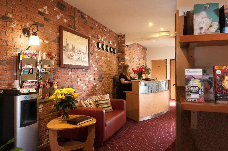 Maly Krakow Aparthotel Lounge/Empfang