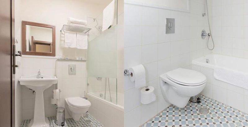 Villa Ba´Moshava  Badezimmer