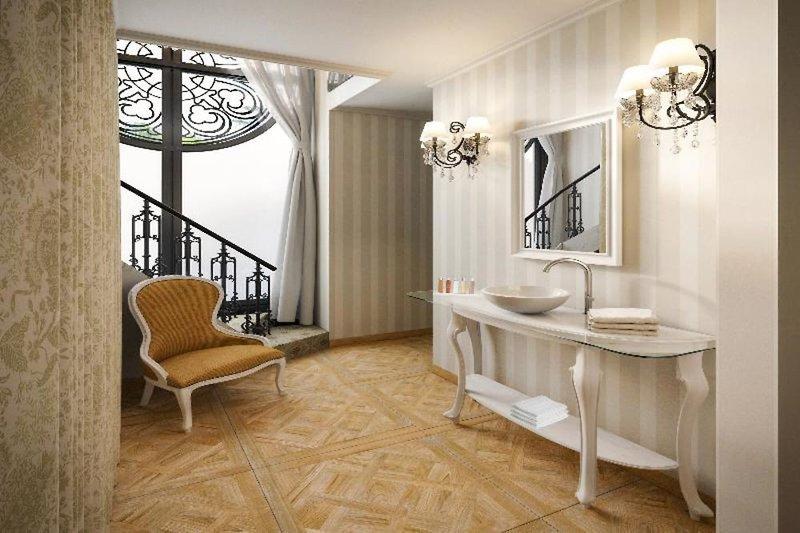 Mystery Hotel Budapest Badezimmer