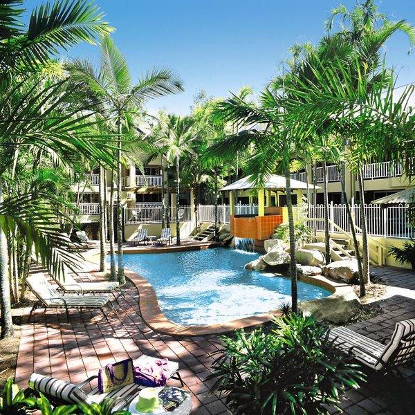 Paradise on the Beach Resort Palm Cove Pool