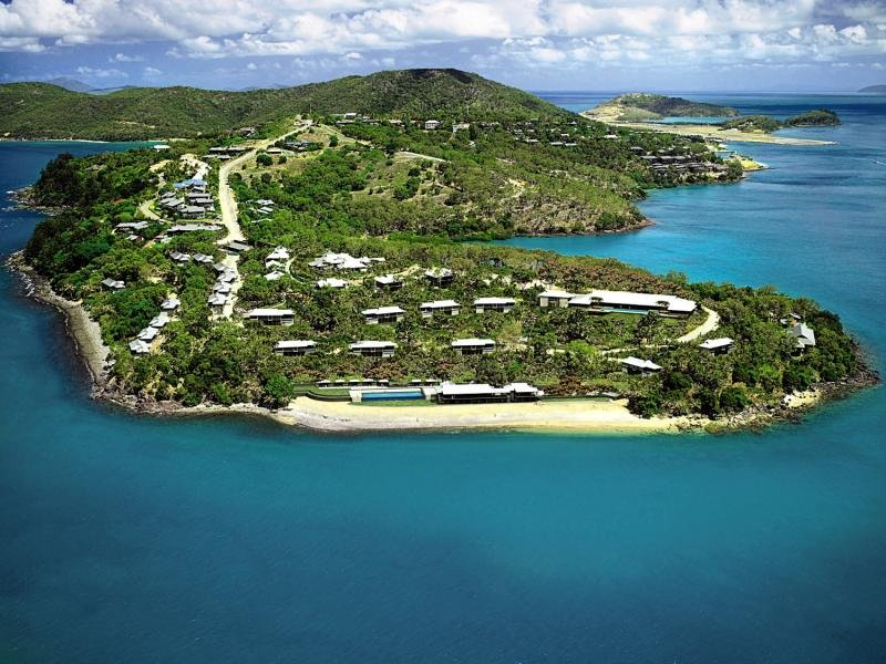 Qualia Resort Landschaft
