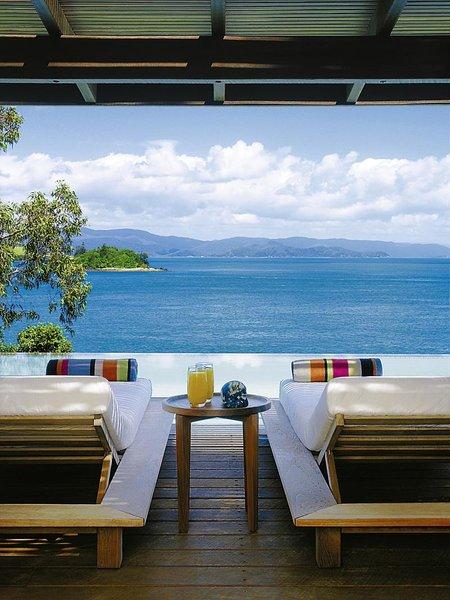 Qualia Resort Terrasse