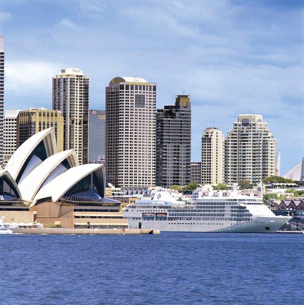 Shangri-La Sydney Außenaufnahme