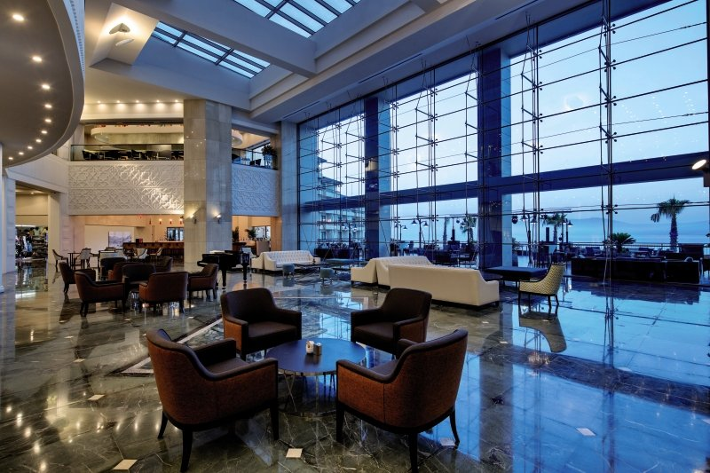Euphoria Aegean Resort & Spa Lounge/Empfang