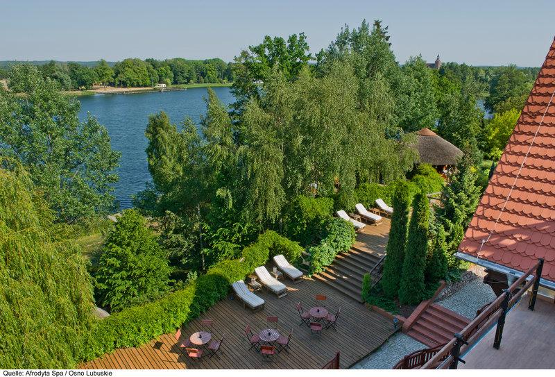 Afrodyta Spa & Wellness Resort Terrasse