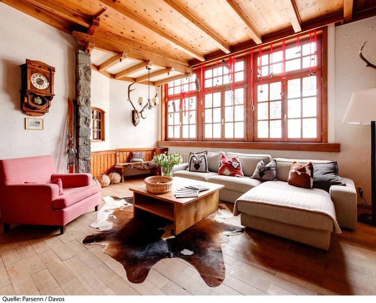 Parsenn Resort Lounge/Empfang