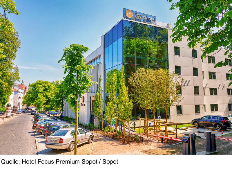 Focus Hotel Premium Sopot Außenaufnahme