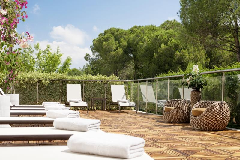 Ela Quality Resort Belek Terrasse