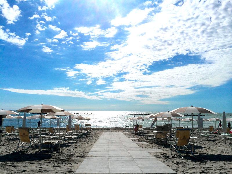 Camping Villaggio Vigna Sul Mar Strand