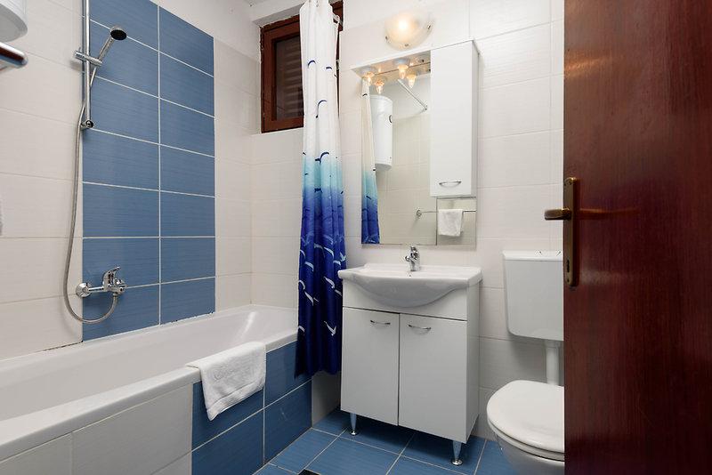 Medena Appartements Badezimmer